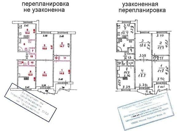 продажа квартиры с перепланировкой